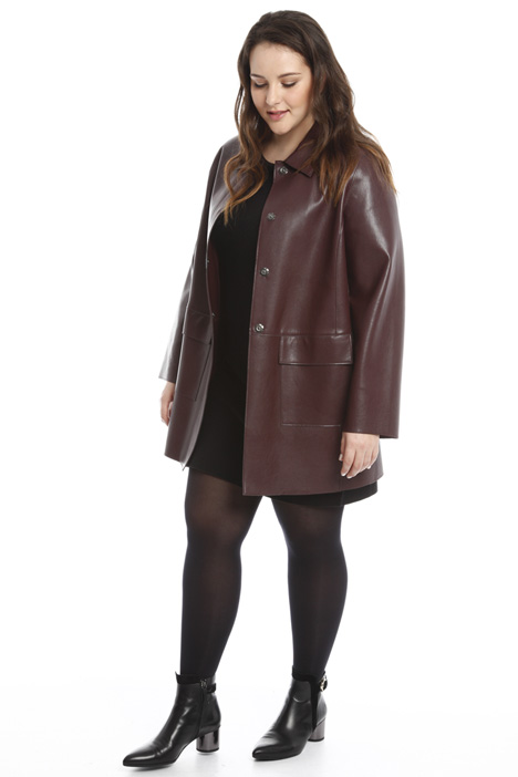 Coated jersey jacket Diffusione Tessile