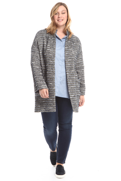 Knit-effect jacket Diffusione Tessile