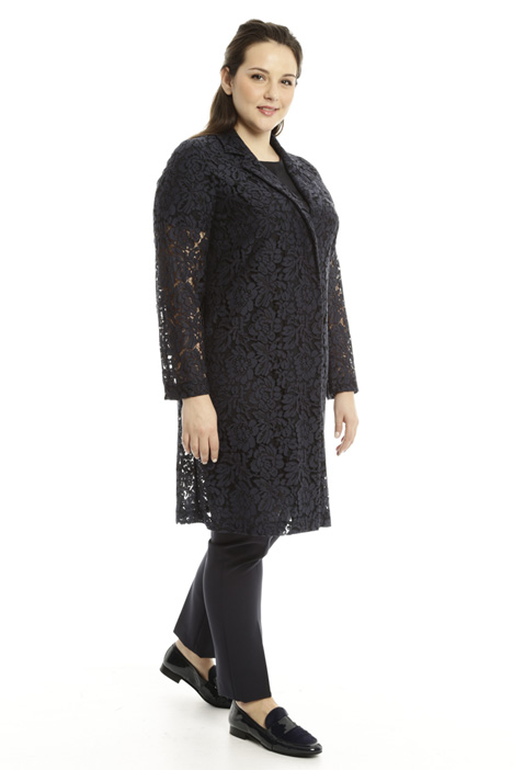 Cotton lace duster coat Intrend