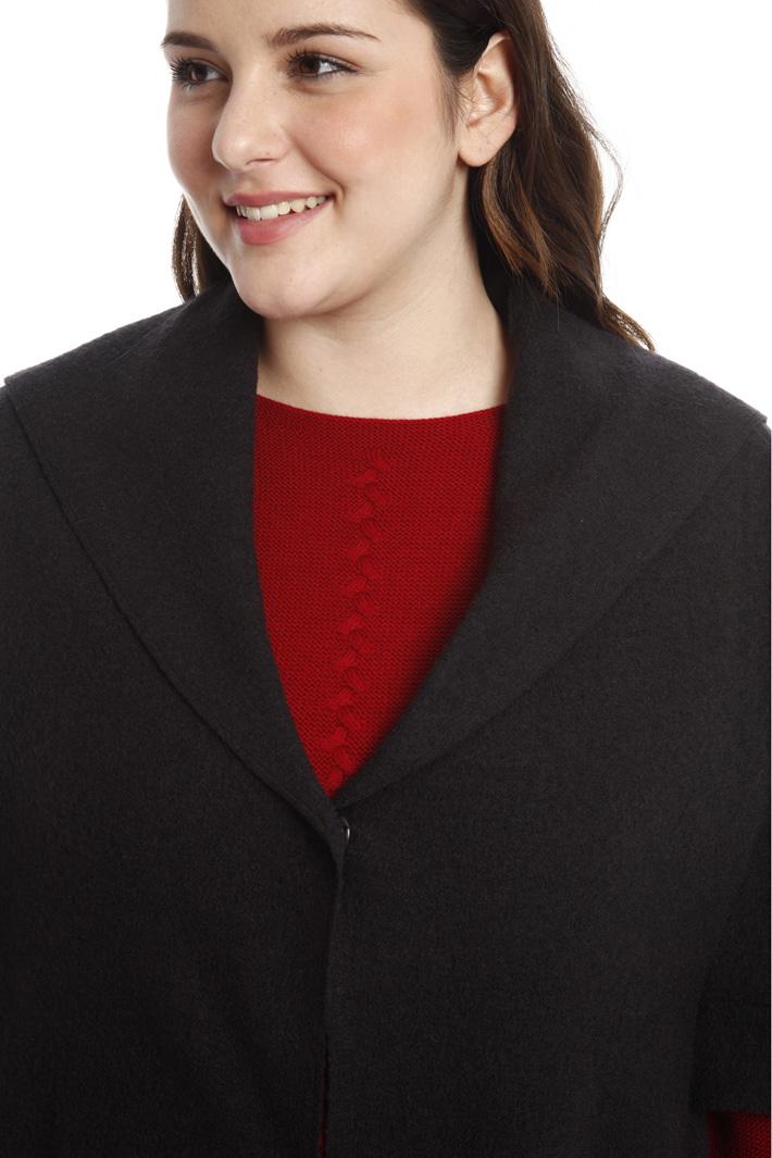 Cappa in lana cotta Diffusione Tessile