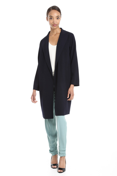 Jacket in crepe fabric Diffusione Tessile