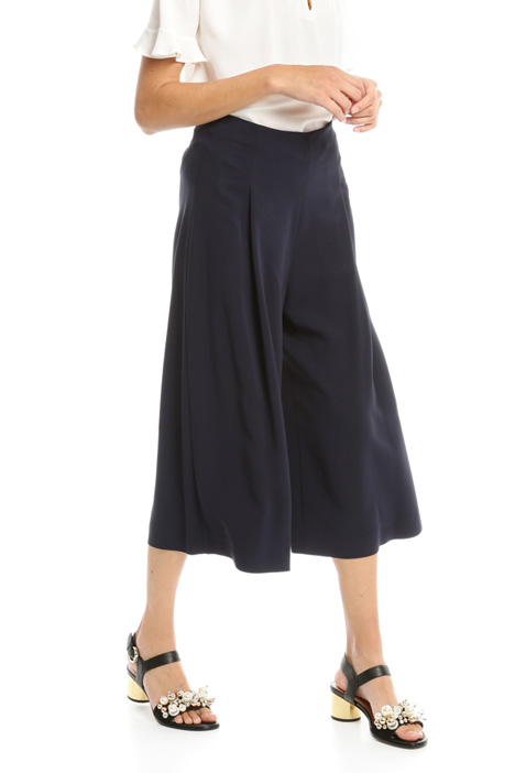 Divided skirt in cady Diffusione Tessile