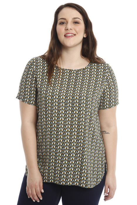Printed cady top Diffusione Tessile