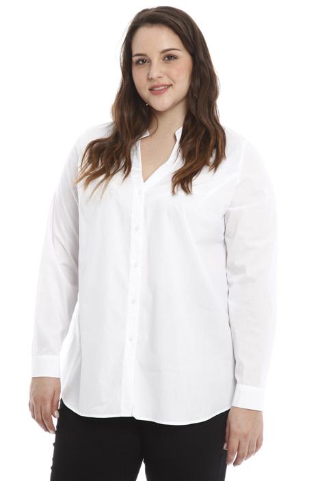 Cotton poplin shirt Diffusione Tessile