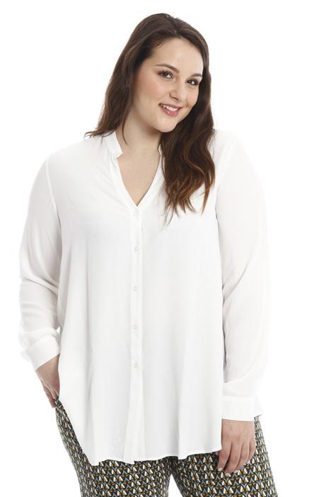 Camicia in crespo di seta Diffusione Tessile