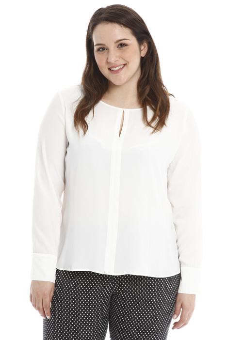 Silk crepe blouse Diffusione Tessile