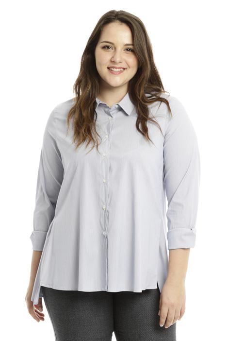Camicia over tinto filo Diffusione Tessile