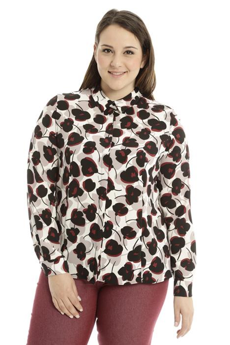 Printed sablé shirt Diffusione Tessile
