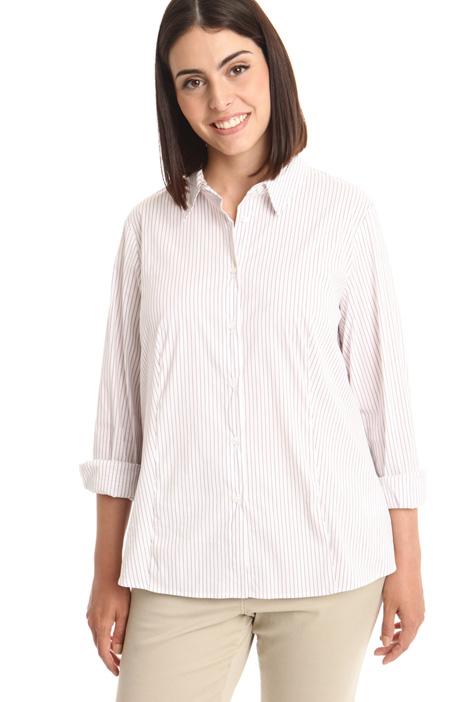 Camicia in popeline stretch Diffusione Tessile