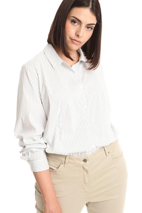 Stretch poplin shirt Diffusione Tessile