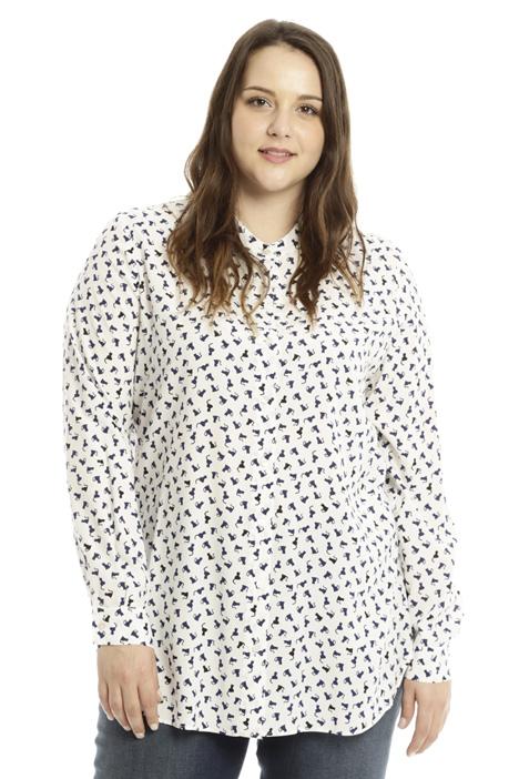 Camicia in viscosa stampata  Diffusione Tessile