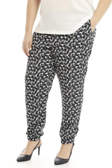 Pantalone jogging in cady Diffusione Tessile