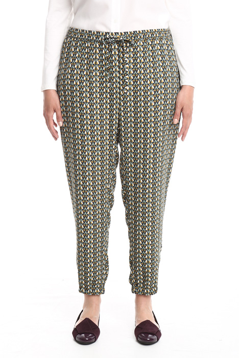 Cady jogging-style trousers Intrend