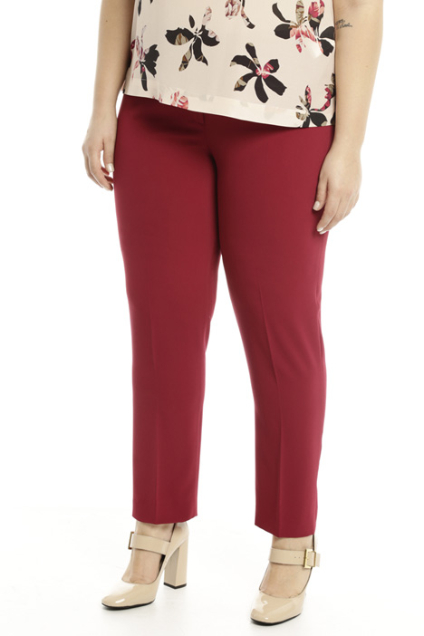 Long fitted trousers Diffusione Tessile