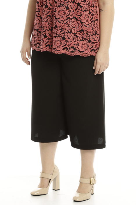 Wide cropped trousers Diffusione Tessile