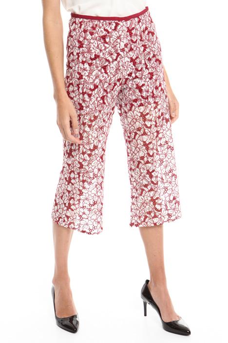 Pantalone in pizzo ricamato Diffusione Tessile