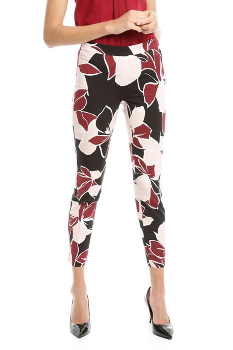 Stretch faille trousers Diffusione Tessile