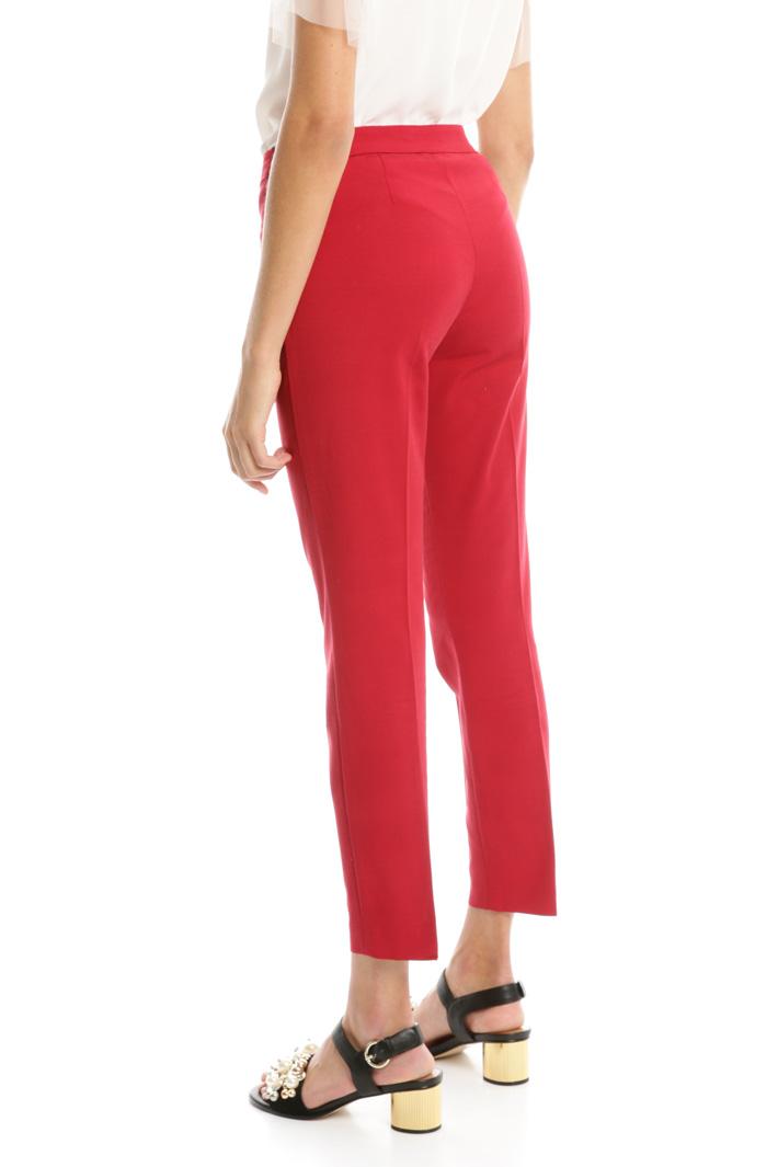 Pantaloni in faille stretch Diffusione Tessile