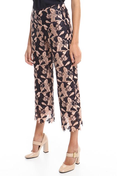 Pantalone in pizzo macramé Diffusione Tessile