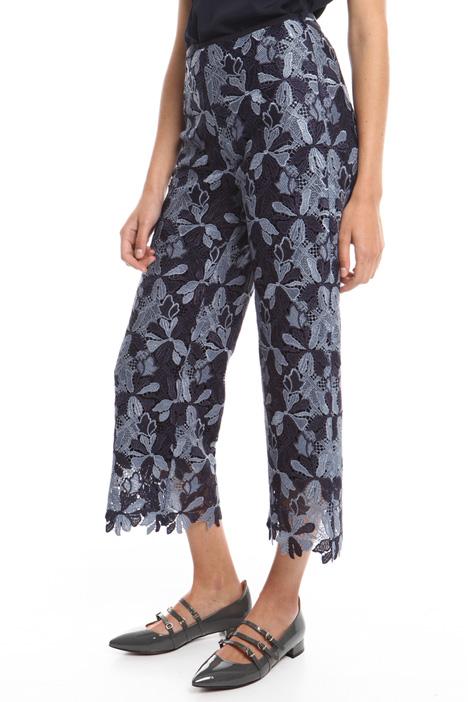 Macramé lace trousers Diffusione Tessile
