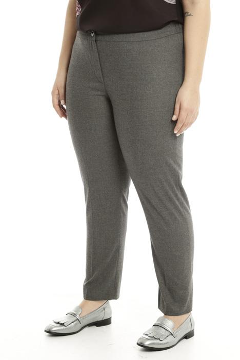 Pantalone aderente in flanella Intrend