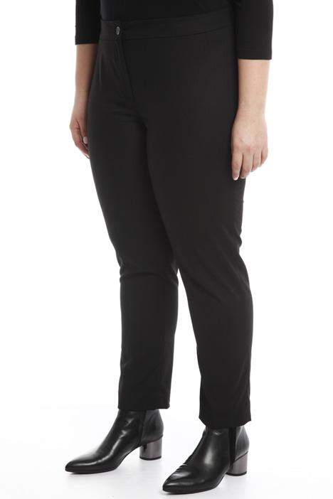 Pantalone aderente in flanella Diffusione Tessile