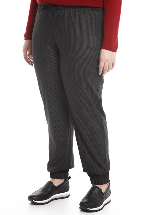 Pantalone jogging in flanella Diffusione Tessile