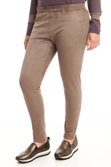 Suede effect leggings Diffusione Tessile