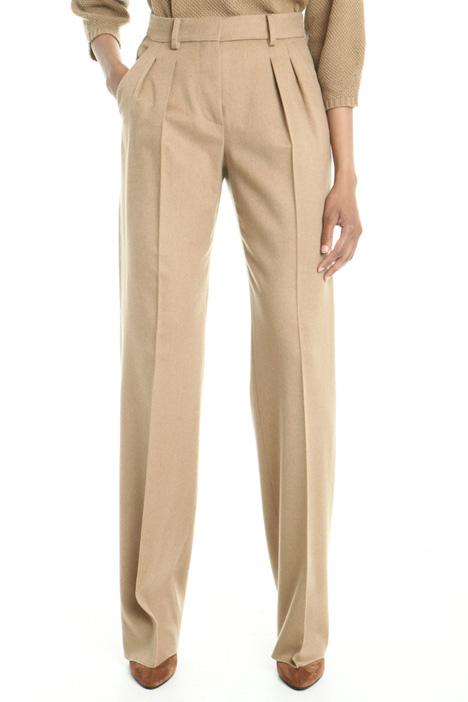 Pantaloni palazzo in drap Diffusione Tessile