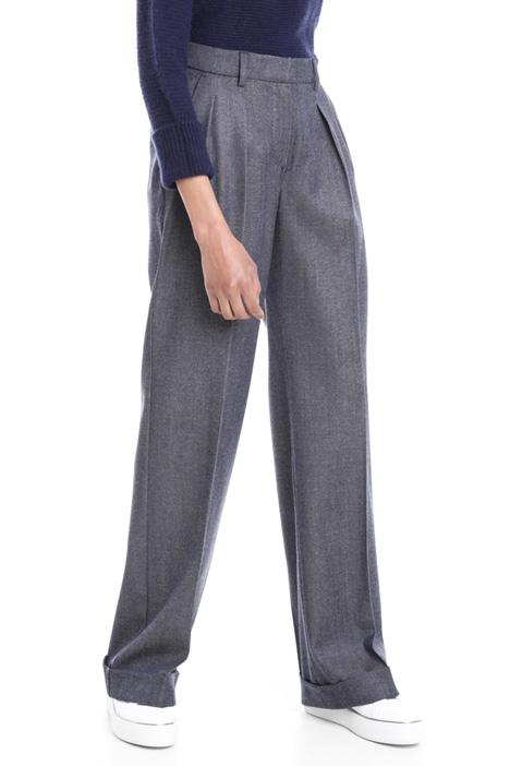 Pantaloni in lana vergine Diffusione Tessile