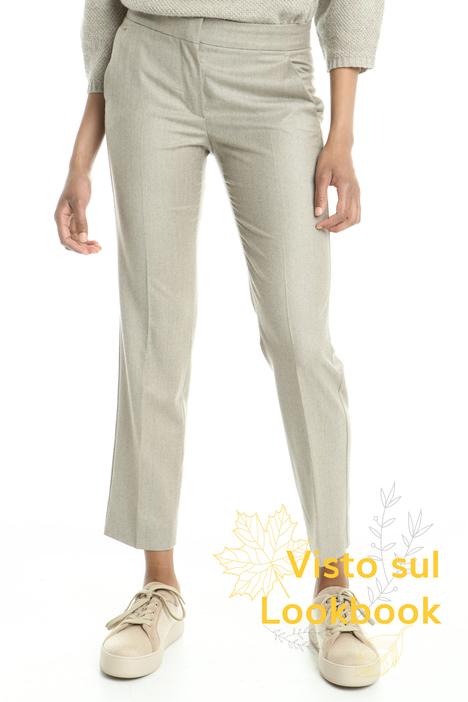 Pantaloni in pura lana Diffusione Tessile