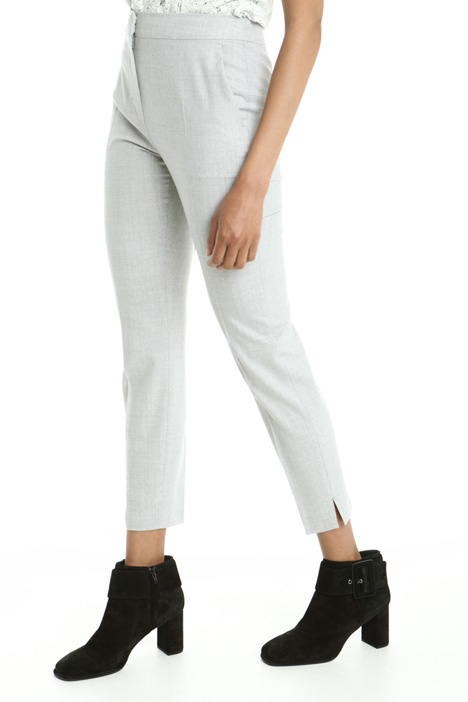 Pantaloni in lana stretch Diffusione Tessile
