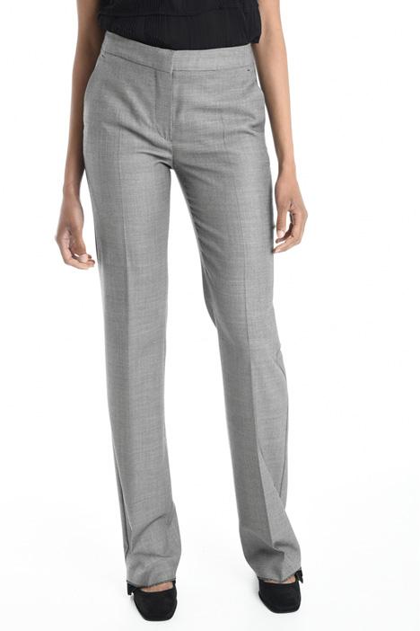 Pantaloni in lana leggera Diffusione Tessile