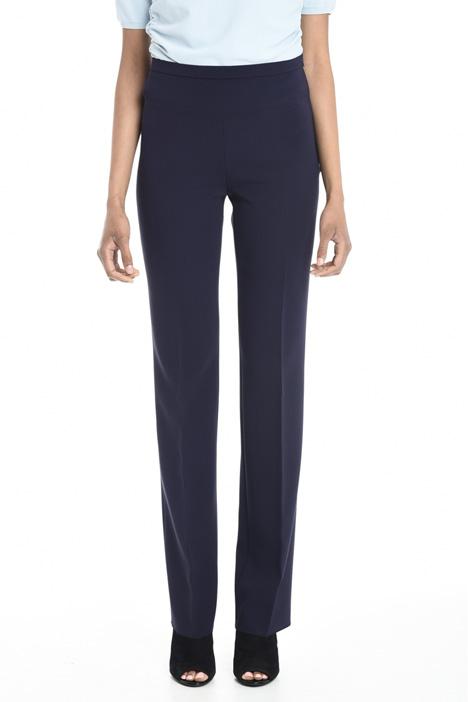 Pantalone lungo in triacetato Diffusione Tessile