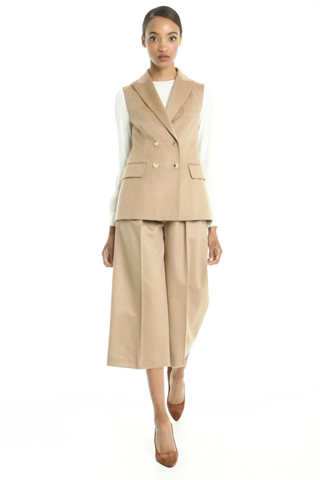 Wool drap vest Diffusione Tessile