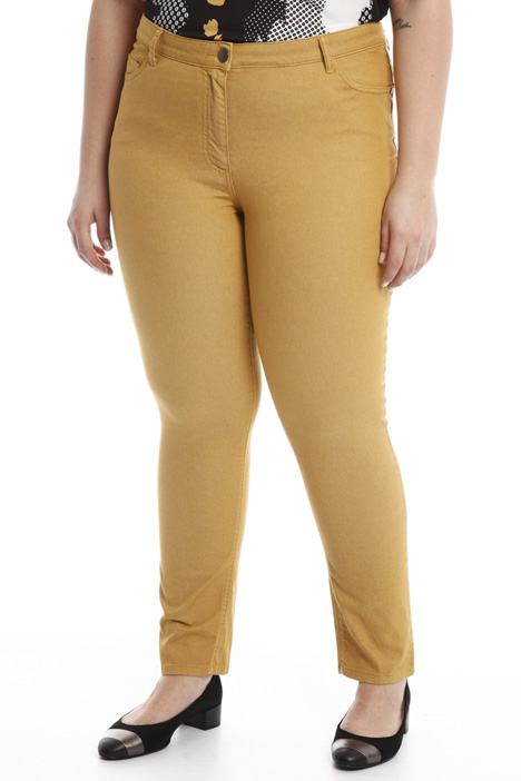 Jeans slim con tasche Diffusione Tessile