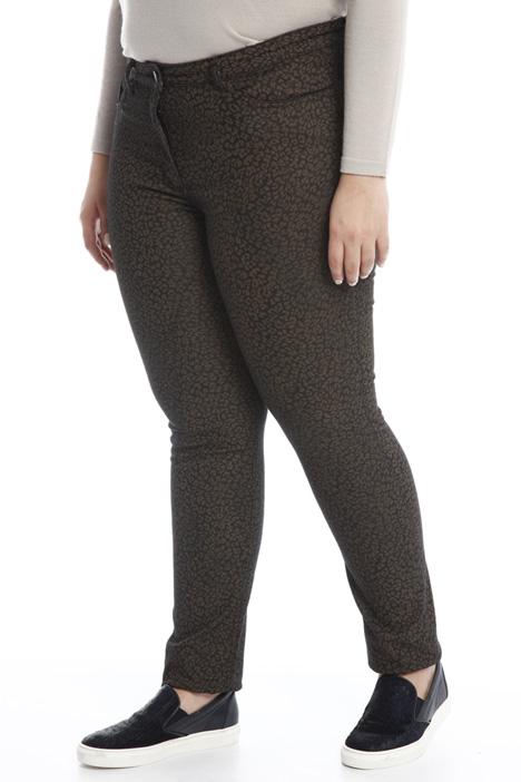 Pantalone in denim stampato Diffusione Tessile