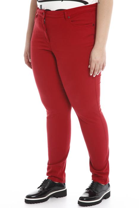 Pantalone in raso stretch Diffusione Tessile