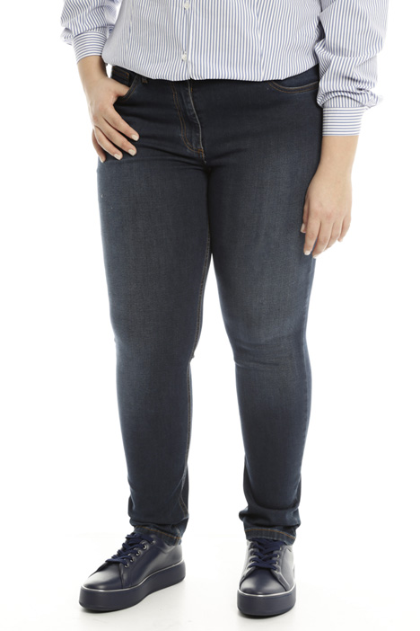Pantaloni skinny in denim Diffusione Tessile
