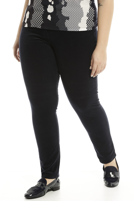 Velvet skinny trousers Diffusione Tessile