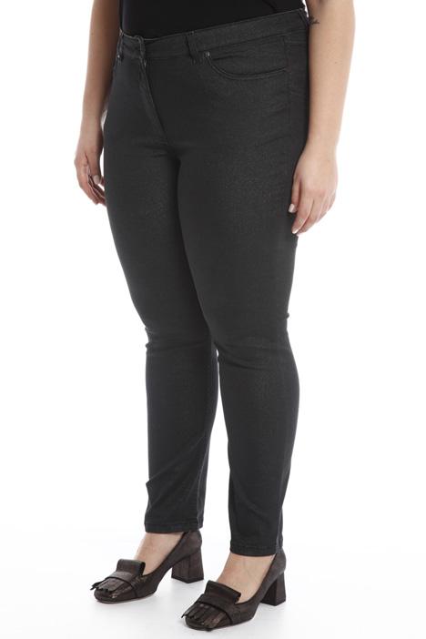 Jeans skinny glitterato Diffusione Tessile