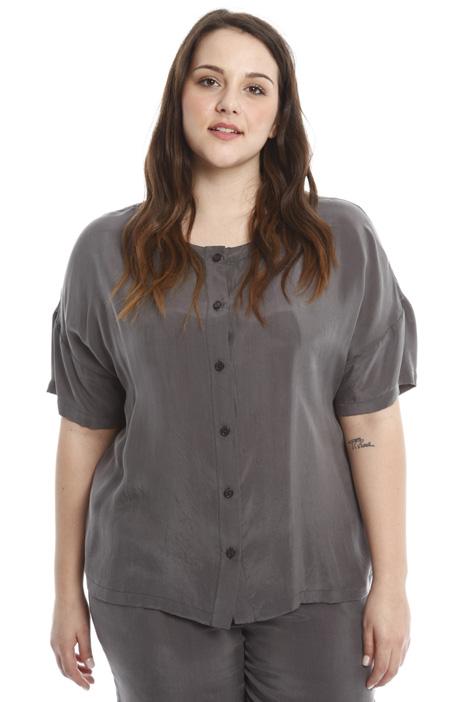 Tunic in fluid fabric Diffusione Tessile