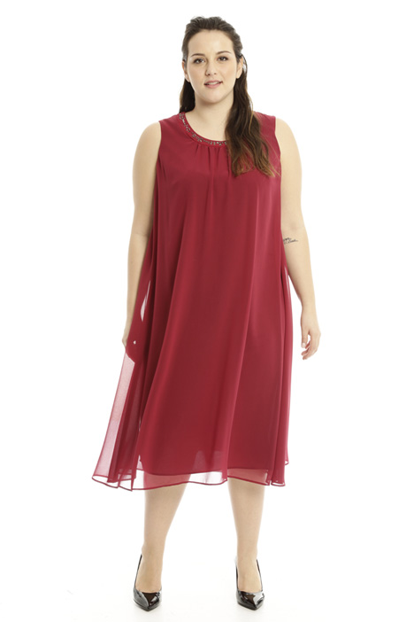 Fluid georgette dress Diffusione Tessile