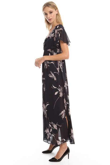 Long georgette dress Diffusione Tessile