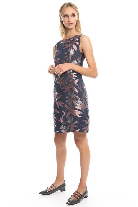 Flared jacquard dress Diffusione Tessile