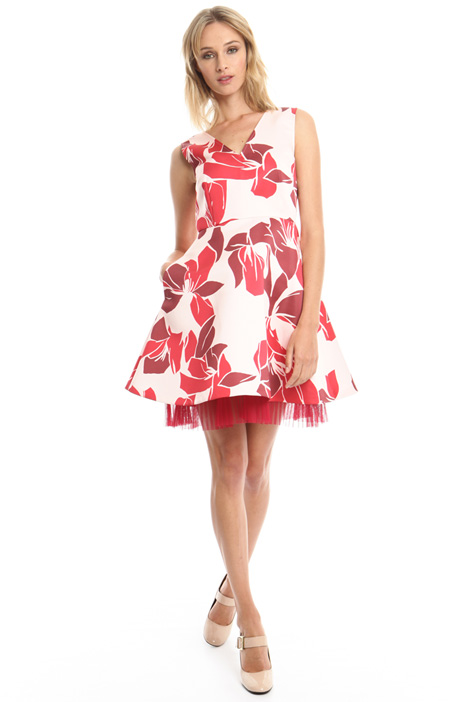 Printed princesse-line dress Intrend