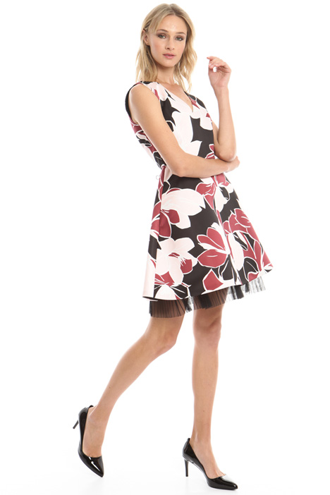 Printed princesse-line dress Diffusione Tessile