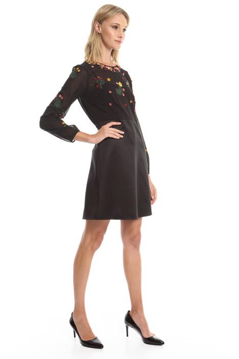 Mini abito con applicazioni Diffusione Tessile