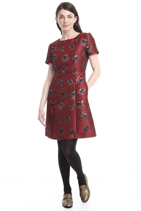 Jacquard lurex dress Intrend