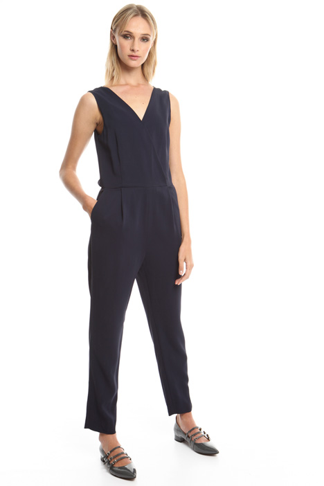 Viscose cady jumpsuit Diffusione Tessile